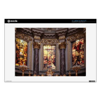 Church altar altarpiece glassart skins for laptops