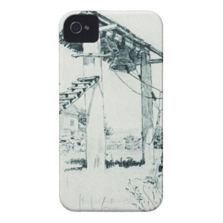 Church and bell tower in Chuguyev by Ilya Repin iPhone 4 Cover