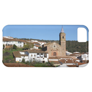 Church and historical helmet of Valdelarco, Huelva Cover For iPhone 5C
