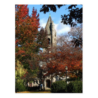 Church and Maples Postcard