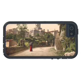 Church and Old Town Royat Auvergne France iPhone 5 Case