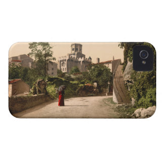 Church and Old Town Royat Auvergne France Case-Mate iPhone 4 Cases