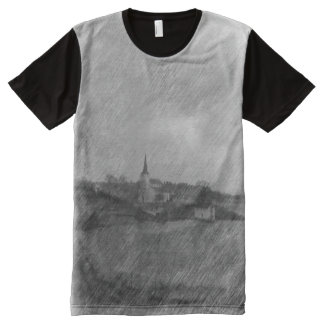 Church and sea All-Over-Print T-Shirt