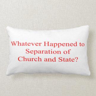 Church and State Lumbar Pillow