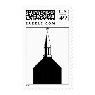 Church and Steeple Postage