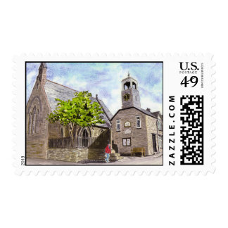 'Church and Town Hall' Postage