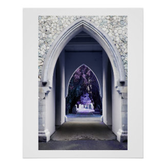 Church Archway Poster