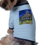 Church at Auvers Pet T Shirt