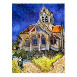 Church at Auvers Post Cards