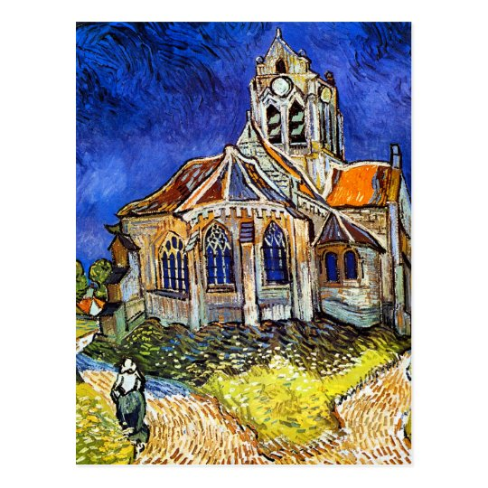 Church at Auvers Postcard