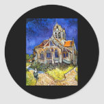 Church at Auvers Stickers