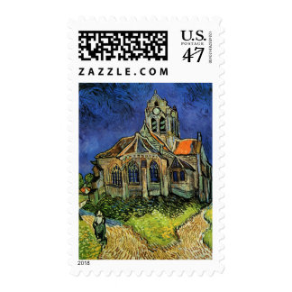 Church at Auvers, The Postage