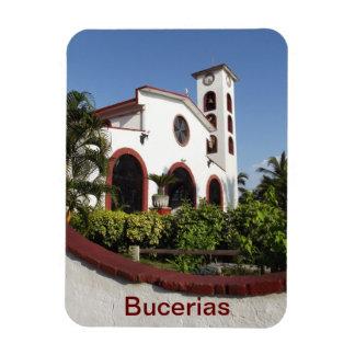 Church at Bucerias Mexico Magnet