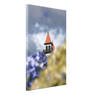 Church at Furnas - Azores Canvas Print