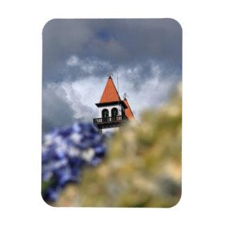 Church at Furnas - Azores Rectangular Photo Magnet