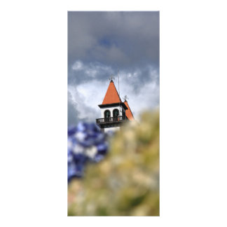 Church at Furnas - Azores Full Color Rack Card