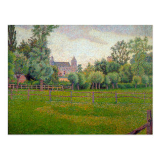 Church at Gisors by Camille Pissarro Postcard