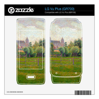 Church at Gisors by Camille Pissarro Decals For The LG Vu Plus