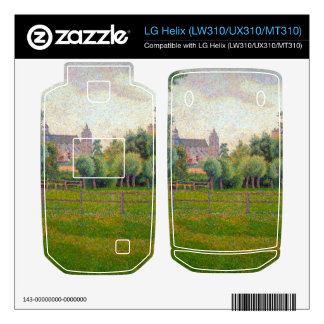 Church at Gisors by Camille Pissarro Skins For LG Helix