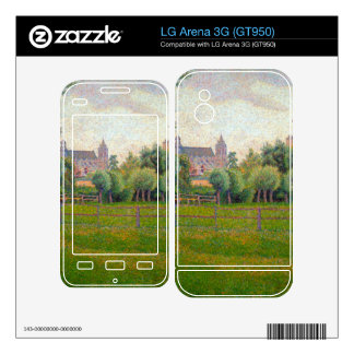 Church at Gisors by Camille Pissarro Skins For The LG Arena 3G