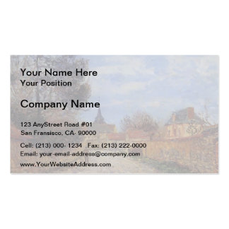 Church at Notre Dame by Eure by Gustave Loiseau Business Card