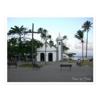 Church at Praia do Forte Postcard
