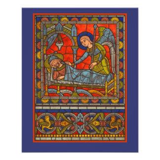 """Church Bazaar, Christmas Fair or Christian Event 4.5"""" X 5.6"""" Flyer"""