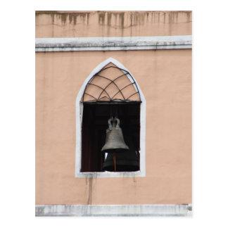 Church bell postcard