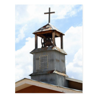 Church Bell Tower in Truchas, New Mexico Postcard