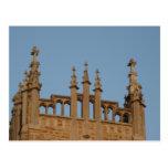 Church Bell Tower Postcard