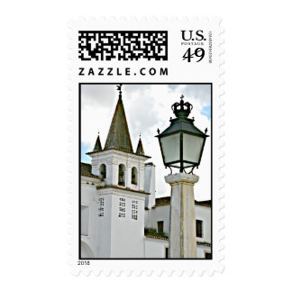 Church Bell Tower Wedding Postage
