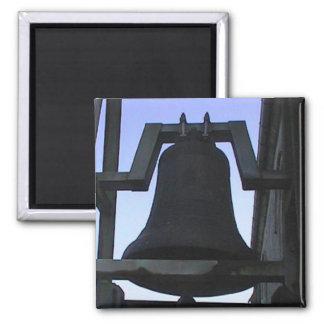 Church bells fridge magnet