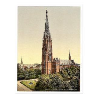 Church, Bremerhafen, Hanover (i.e. Hannover), Germ Postcard