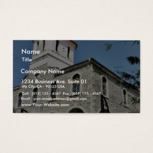 Roman catholic business cards templates zazzle church business card colourmoves