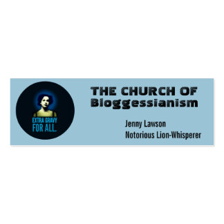 Church business cards.  Customize. Double-Sided Mini Business Cards (Pack Of 20)