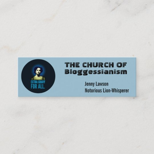 church business cards customize mini business card - Church Business Cards