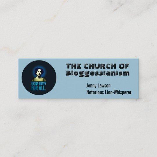 church business cards customize mini business card - Mini Business Cards