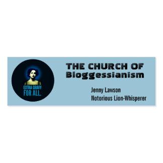 Church business cards.  Customize. Mini Business Card