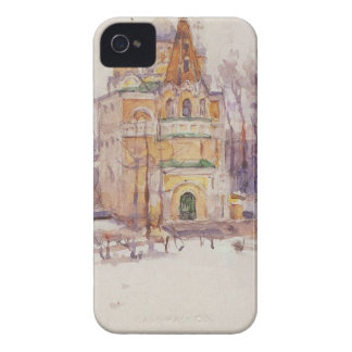 Church by Vasily Surikov iPhone 4 Case-Mate Case