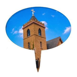 Church Cake Topper