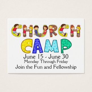 Church Camp Business Card - SRF