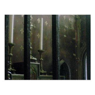 Church Candles Postcard