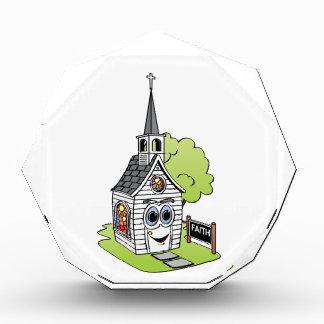 Church Cartoon Acrylic Award