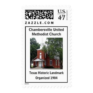 Church, Chambersville United Methodist Church, ... Postage
