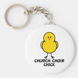 Church Choir Chick Keychains