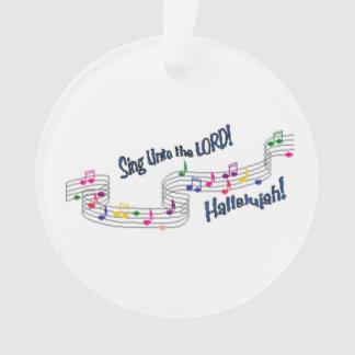 Church Choir Ornament