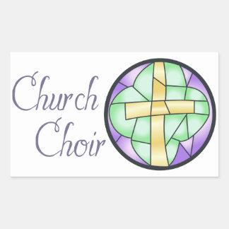 Church Choir Rectangular Sticker