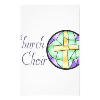Church Choir Stationery