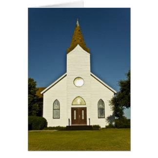 """Church """"clear"""" card"""