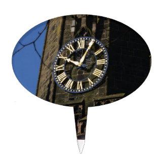Church Clock Cake Topper